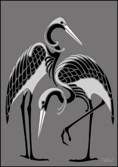 Art Deco stencils from The Stencil Library. Buy from our range of Art Deco stencils online. Page 4 of our Art Deco motif stencil catalogue. Bird Stencil, Stencil Art, Stencils, Motif Art Deco, Art Nouveau Design, Art Deco Print, Stencil Patterns, Stencil Designs, Transférer Des Photos