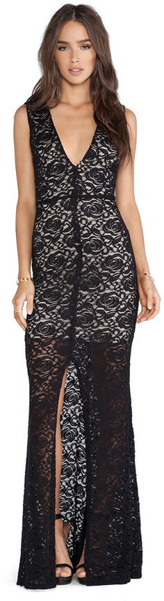 Alice Olivia Mia Lace Maxi Dress Is on sale now for -25 % !