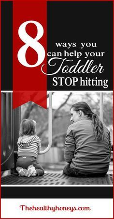 How to get your toddler to stop hitting - The Healthy Honeys