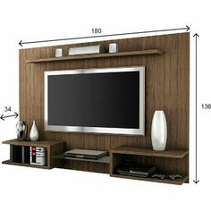 40 Cool TV Stand Dimension And Designs For Your Home - Engineering Discoveries