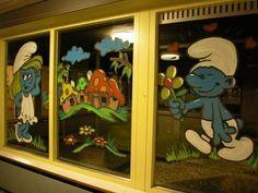 Raamschildering School Oss 2008 - bmegraphics