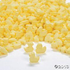 Yellow Duckie Candies