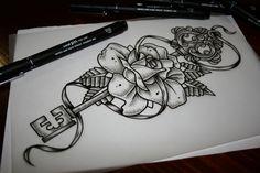Key & Rose by John Hobbs, via Behance
