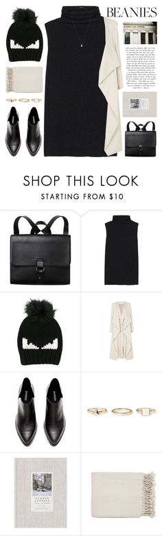 """Untitled #1111"" by chantellehofland ❤ liked on Polyvore featuring Monki, The Row, Fendi, sass & bide, Warehouse and Surya"