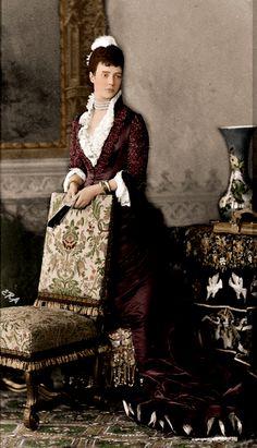 Empress Marie Feodorovna of Russia,1880s.A♥W