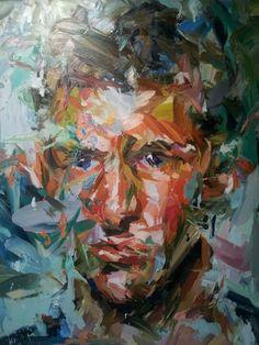 Blue eyes by Paul Wright Paul Wright, Figurative Kunst, A Level Art, Ap Art, Art Sketchbook, Portrait Art, Figure Painting, Artist Art, Art Gallery