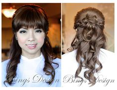Hairstyles For Long Hair Sweet 16 : ... sweet 16 on Pinterest Half up half down, Half up and Sweet 16 party