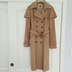 Burberry Trench Coat 100% Authentic. Very good condition. Comes with Burberry hanger and Burberry duster bag. Burberry Jackets & Coats Trench Coats