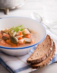Apetit-reseptit - Mualiman paras kalasoppa saisi olla ruokalistalla vaikka joka viikko. #helpompiarki #koukussakalaan #kattilallinenkeittoa