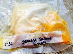Orange ginger honey chicken sous vide