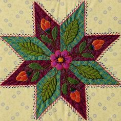 new block of the month: from January will be proposed in the Quiltmania 2015