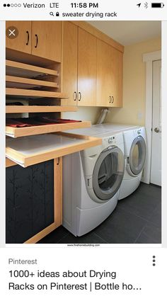 Make your own laundry room drying rackeasy diy project diy home laundry room trifecta hamper storage area and drying racks laundry room drying rack laundry room drying rack solutioingenieria Image collections