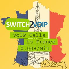 France VoIP Provider at 0.0078 per Minute Signup for a Switch2Voip account to make calls to France at 0.0078 per minute and make calls from any device, our service is compatible with all softphones and PBX phone systems. There are no monthly fees, setup fees or hidden charges, you just pay for what you use with no rounding. Do you provide France phone numbers? Yes, a Virtual Phone Number, (also called DID) is a VoIP telephone number used to receive calls using a softphone or a PBX.  A…