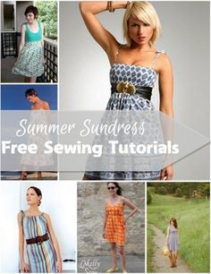 summer sundress sewing tutorials