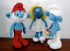 Crochet Smurf Doll Pattern Video Tutorial