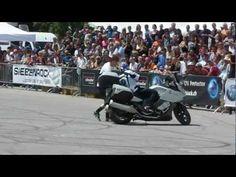 BMW K 1600 GT, Stunt Riding Chris Pfeiffer, Sofa, BMW Motorrad Days, 2012