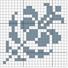 Il Piacere del ricamo Graph Crochet, Filet Crochet, Knitting Charts, Pixel Art, Hand Embroidery, Cross Stitch Patterns, Needlework, Tapestry, Medici