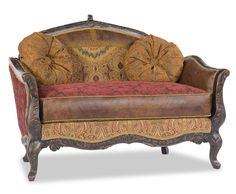 Chloe Settee/Chaise by Paul Robert - Home Gallery Stores