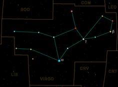 Virgo is best seen in spring. Virgo's brightest star, Spica, is ... tattoo in UV