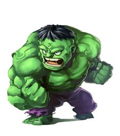 #Hulk #Fan #Art. (Hulk Chibi) By: ANDREA COFRANCESCO. (THE * 3 * STÅR * ÅWARD OF: AW YEAH, IT'S MAJOR ÅWESOMENESS!!!™)[THANK Ü 4 PINNING!!!<·><]<©>ÅÅÅ+(OB4E)   https://s-media-cache-ak0.pinimg.com/564x/d6/8f/19/d68f19f3e33bac76539218afbe38149c.jpg