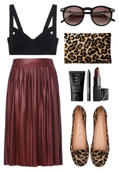 """Untitled #321"" by style-dreams ❤ liked on Polyvore featuring Zara, Wildfox and NARS Cosmetics"