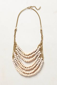 Salt Flats Bib Necklace - anthropologie.com