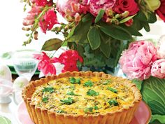Brunch like a boss with Aunt Rose's spring asparagus quiche. Pro-Tip: Be patient before cutting into your quiche. Even though the top may appear