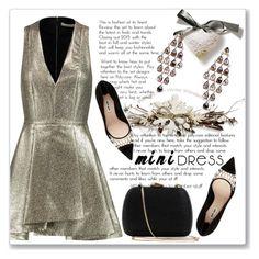 """Holiday Chic: Mini Dresses"" by andrejae ❤ liked on Polyvore featuring Latelita, Alice + Olivia, Miu Miu, Serpui, minidress, polyvoreeditorial and polyvorecontest"
