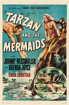 Tarzan and the Mermaids (RKO, 1948)