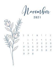 Calendar Journal, Cute Calendar, Print Calendar, Free Printable Calendar, Free Printables, November Calender, 2021 Calendar, Kalender Design, Wedding Schedule