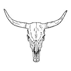 permanent tattoo Bull Skull Tattoo - Semi-Permanent Tattoos by inkbox™ Animal Skull Tattoos, Bull Skull Tattoos, Bull Skulls, Deer Skulls, Head Tattoos, Arrow Tattoos, Animal Skulls, Taurus Bull Tattoos, Elk Skull