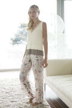 Minuet Sleeveless Pajama / Shop Online at www.touche.com.co Touche Lingerie - Lingerie, Sleepwear & Loungewear - amzn.to/2ieOApL Lingerie, Sleepwear & Loungewear - amzn.to/2ij6tqw