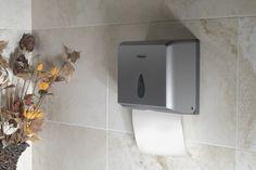 Zásobník papírových ručníků, 26x20x10 cm, ABS šedá : SAPHO E-shop Bathroom Accessories, Abs, Iphone, Retro, Shop, Bathroom Fixtures, Crunches, Abdominal Muscles, Killer Abs