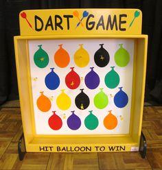 Carnival Games Omaha, Ne., Magnetic Dart Board