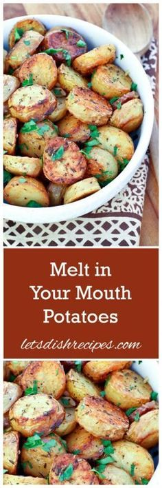 Melt in Your Mouth Potatoes More