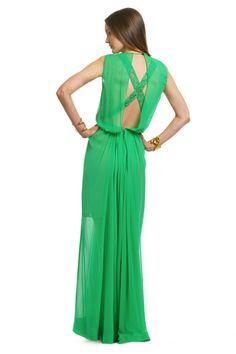 No. 21 chiffon and lace gown  $350 #rtrsummerofstyle