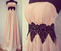 Lovely Pink Strapless Scoop Long Graduation Dresses,Pink Prom Gowns,Pink New Style Prom Dresses 2016,Party Dresses 2016