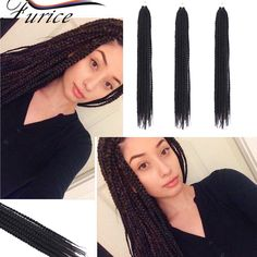 """Aliexpress.com : Buy Best Quality Crochet Braids Box Braids Hair Extensions 18"""" 20 Strands 80g/pack Crotchet Braids Ombre Synthetic Braiding Hair  from Reliable hair styles for medium long hair suppliers on crochet braiding hair extension Store"""