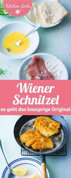 Rezept für Wiener Schnitzel. So wird Schnitzel richtig knusprig