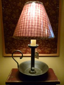 Primitive Country Lighting - Lamps/Shades/Bulbs All can be purchased and  shipped from
