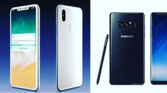 iPhone 8 vs Samsung Galaxy Note 8 Comparison Review -------------------------------- #Google #Nokia #Samsung #Beam3 #iPhoneX #iPhone8 #Microsoft #Galaxy #Note8 #Smartphone #upcoming #Apple #iPhone #Sony #Huawei #LG #P10 #OnePlus5 #GalaxyS8  #Review #Concept #Design #Specs #Feature #Rumors  #OLED #MacbookPro #Galaxy --------------------------------- I make Videos on YouTube Upcoming Technologies & Smartphones ---------------------------------  Follow Me  YouTube/DTechnology786…
