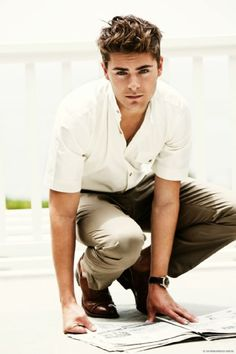 : Zac Efron one of the main cast in high school musical and now hes doing it big in other flims.