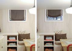 Window Treatment For Basement Level Window   Google Search