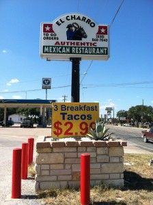 El Charro Restaurant in Johnson City, Texas