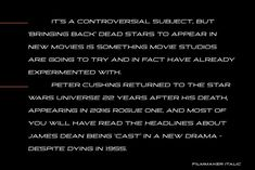 Filmmaker is a wide, slab serif, display font with four varieties. It works well for modern, dynamic projects, logotypes, films, posters, billboards, press advertisements, websites, packaging. It provides multilingual support. Peter Cushing, Slab Serif, New Movies, Filmmaking, Fonts, Drama, Star Wars, It Cast, Reading