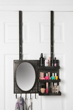 Over-the-Door Vanity Station, $89 at Urban Outfitters #closet #dressing_room #organization