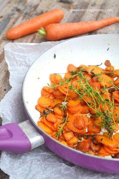 Sauté di carote con burro e timo