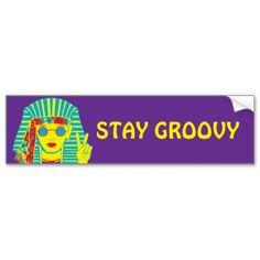 Egyptian Hippie Car Bumper Sticker                                                                                                                                                      More