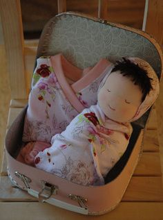 Baby Girl Doll and Clothing Set by Bubbachic, via Flickr