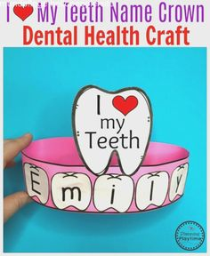 Preschool Dental Health Join our Email Group for Ideas, Freebies & Special Offers.Do you a Preschool Dental Health theme? This set is filled with fun hands on activ Dental Health Month, Oral Health, Health Care, Mental Health, Health Unit, Kids Health, Group Health, Health Activities, Space Activities
